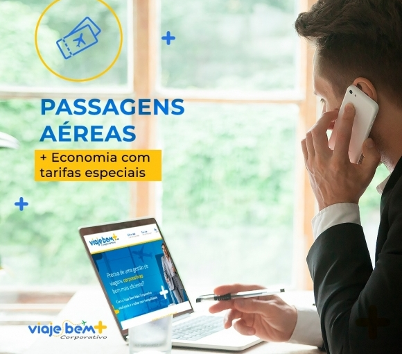 Passagens aéreas para viagens corporativas
